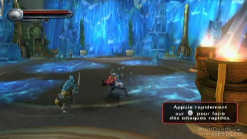 Скриншот к игре Thor: God of Thunder Wii, 3DS Version
