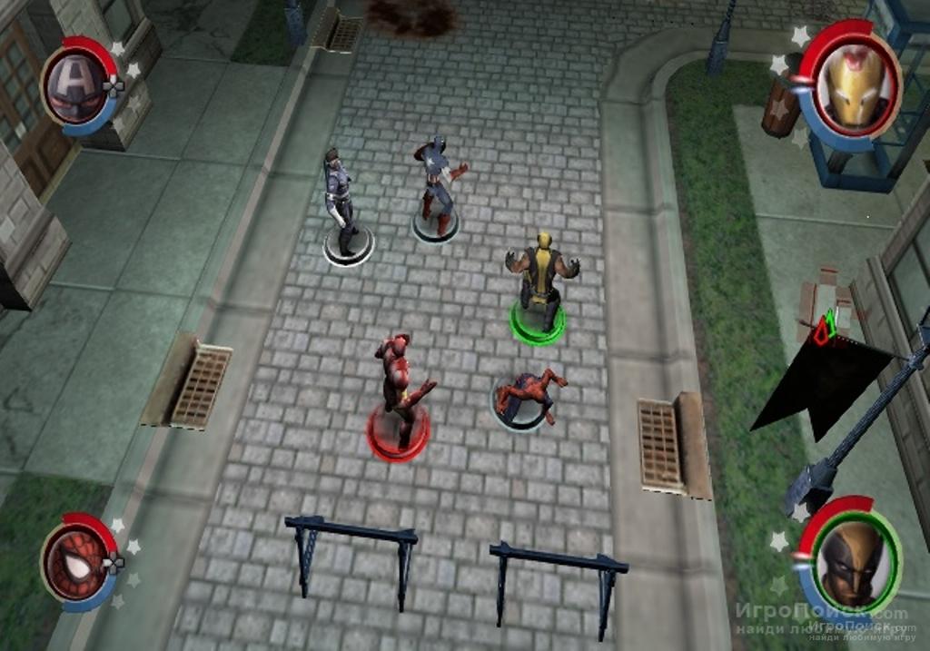Скриншот к игре Marvel Ultimate Alliance 2