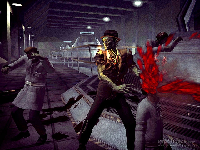 Скриншот к игре Stubbs the Zombie in Rebel Without a Pulse