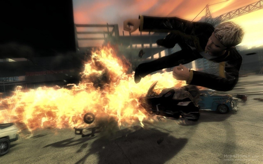 Скриншот к игре FlatOut: Ultimate Carnage