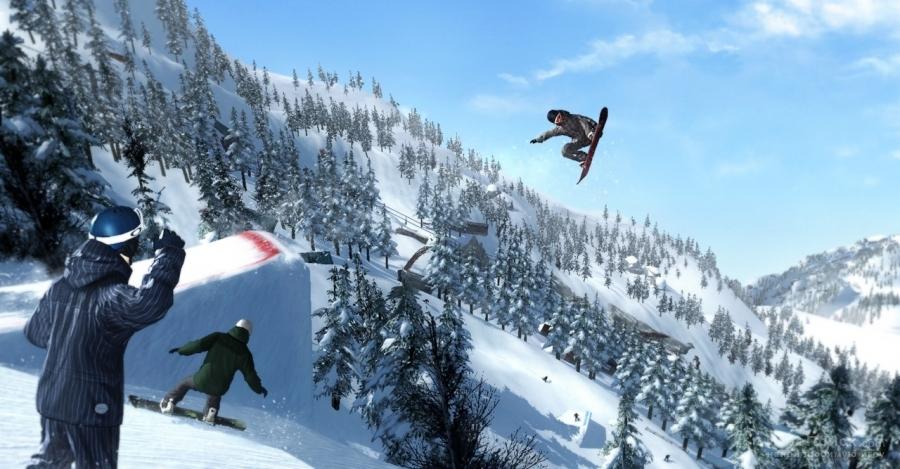 Скриншот к игре Shaun White Snowboarding