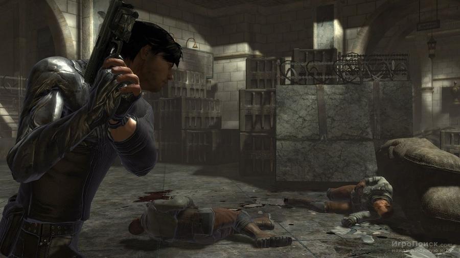 Скриншот к игре Dark Sector