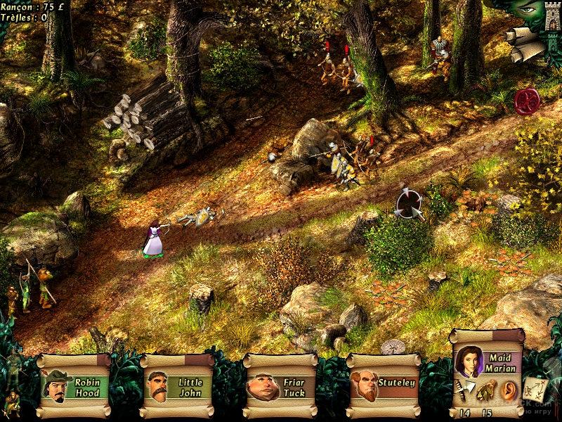 Скриншот к игре Robin Hood: The Legend of Sherwood