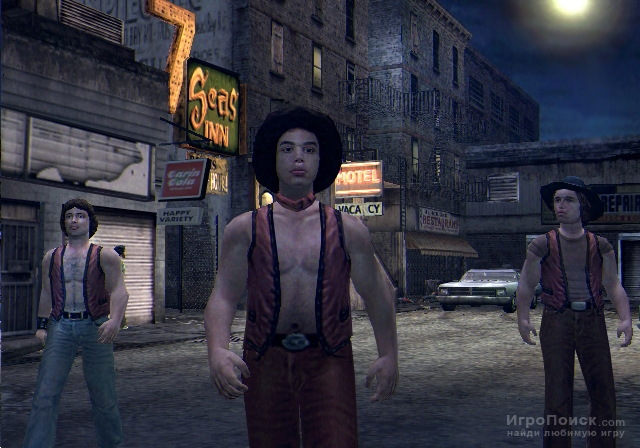 Скриншот к игре The Warriors