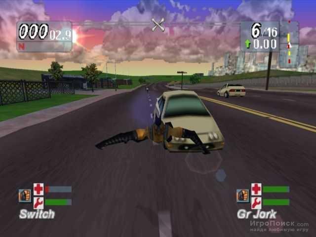 Скриншот к игре Road Rash: Jailbreak
