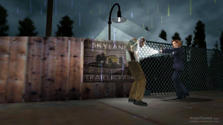 Скриншот к игре The X-Files: Resist or Serve
