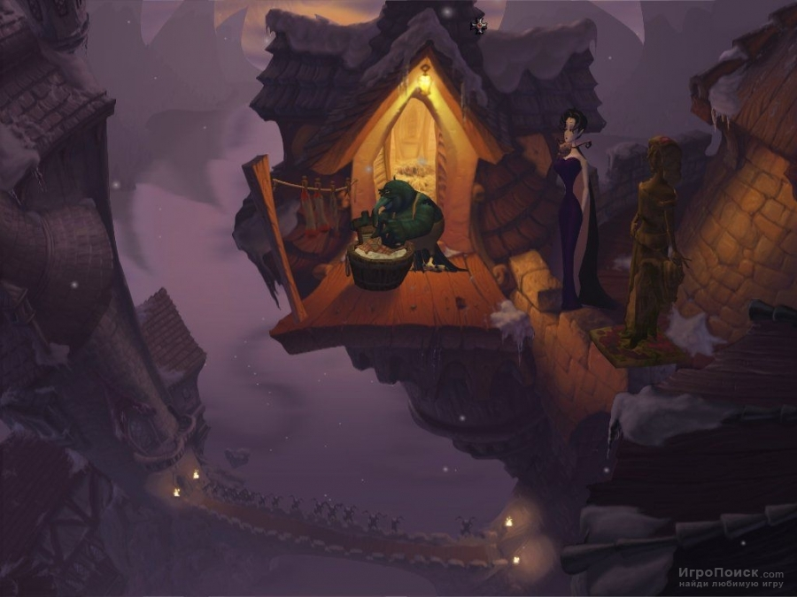 Скриншот к игре A Vampyre Story