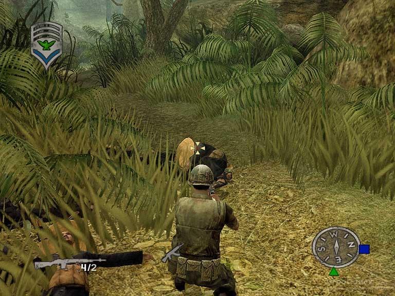 Скриншот к игре Shellshock Nam'67