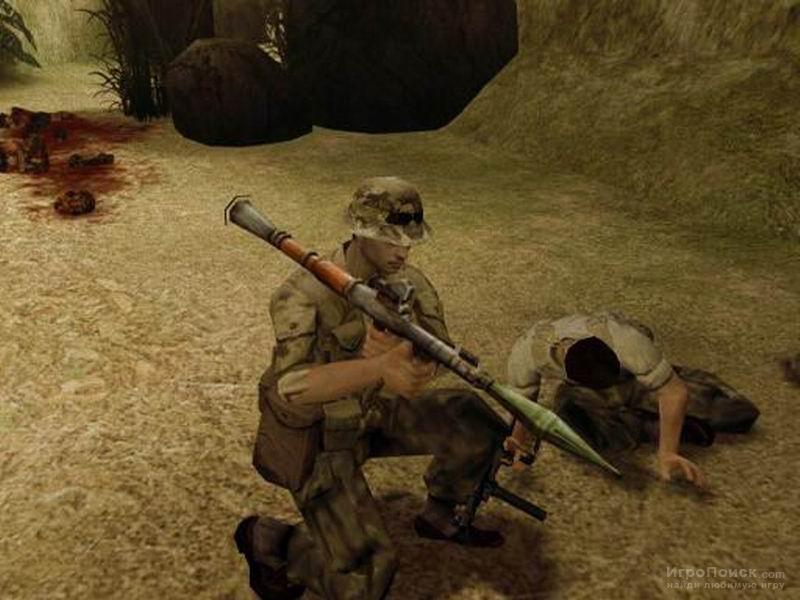 Скриншот к игре ShellShock: Nam '67