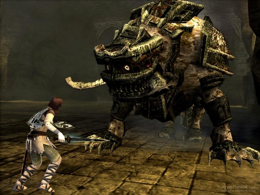 Скриншот к игре Shadow of The Colossus