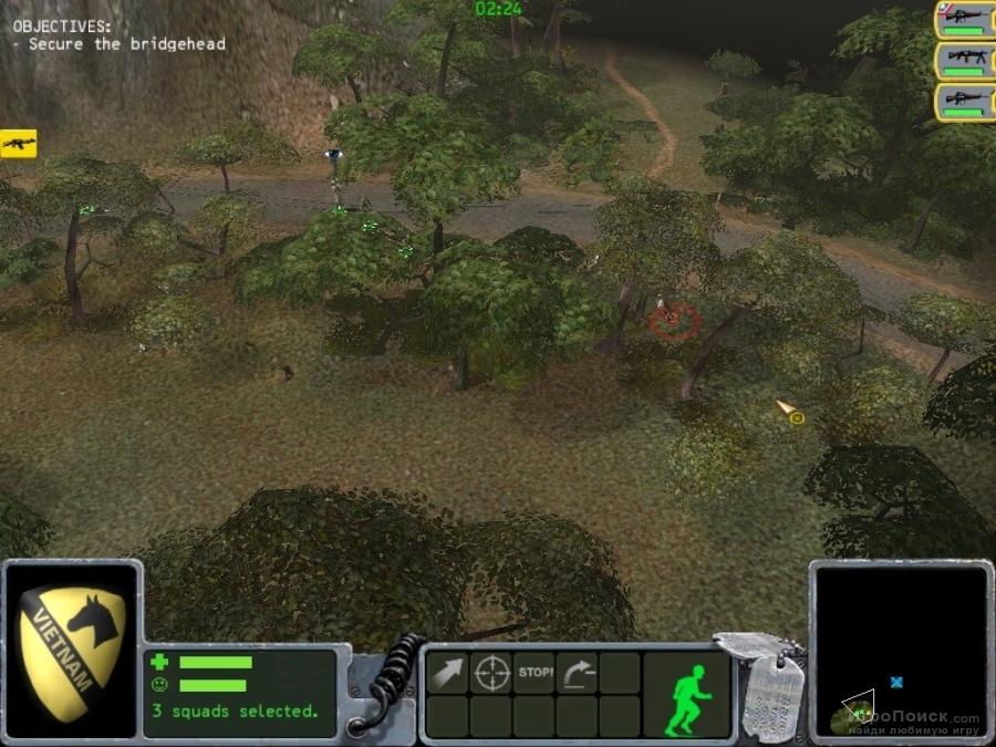 Скриншот к игре Platoon: The 1st Airborne Cavalry Division in Vietnam