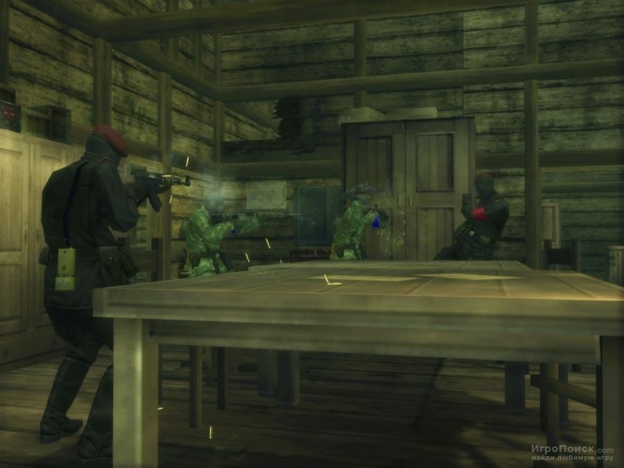 Скриншот к игре Metal Gear Solid 3: Snake Eater