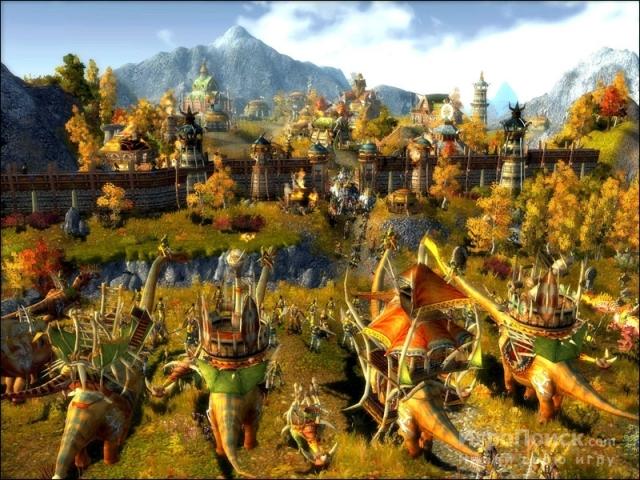 Скриншот к игре ParaWorld