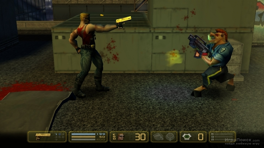 Скриншот к игре Duke Nukem: Manhattan Project