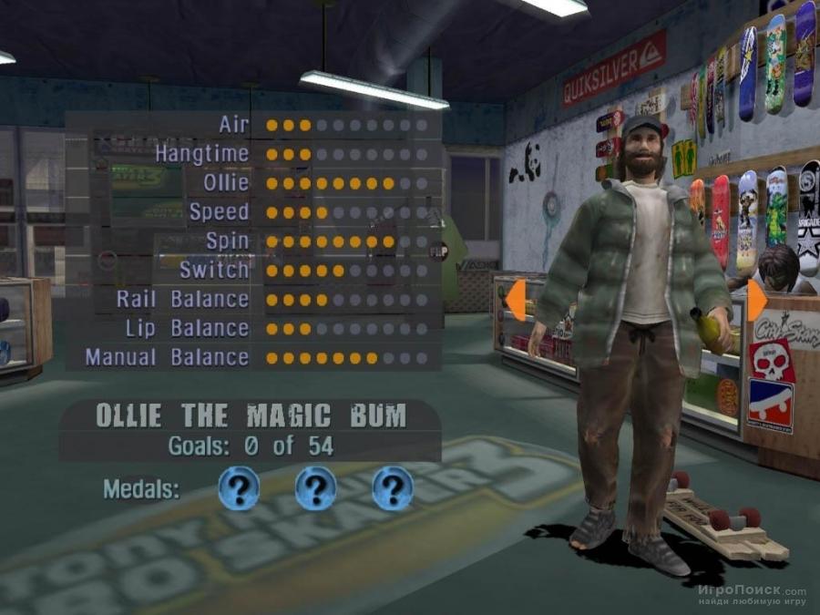 Скриншот к игре Tony Hawk's Pro Skater 3