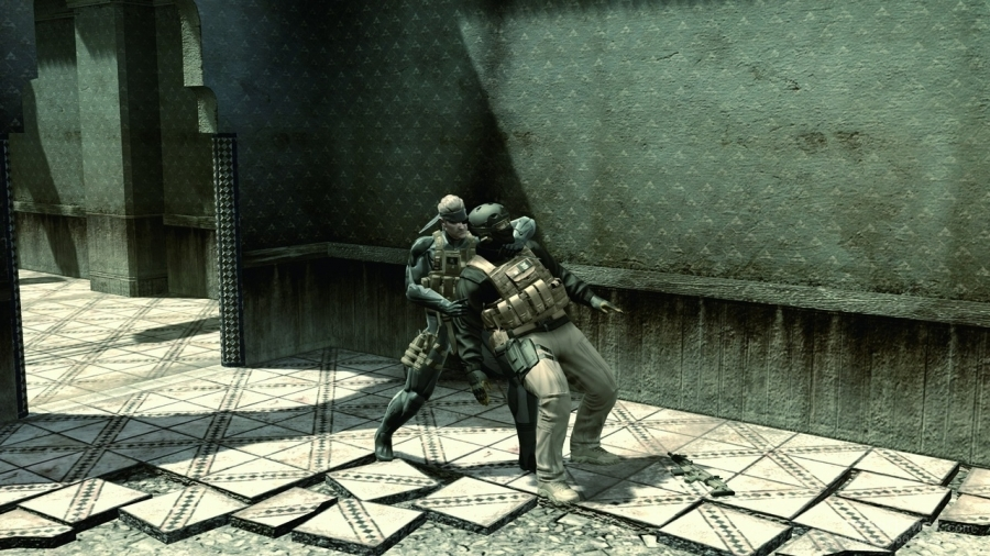 Скриншот к игре Metal Gear Solid 4: Guns of the Patriots