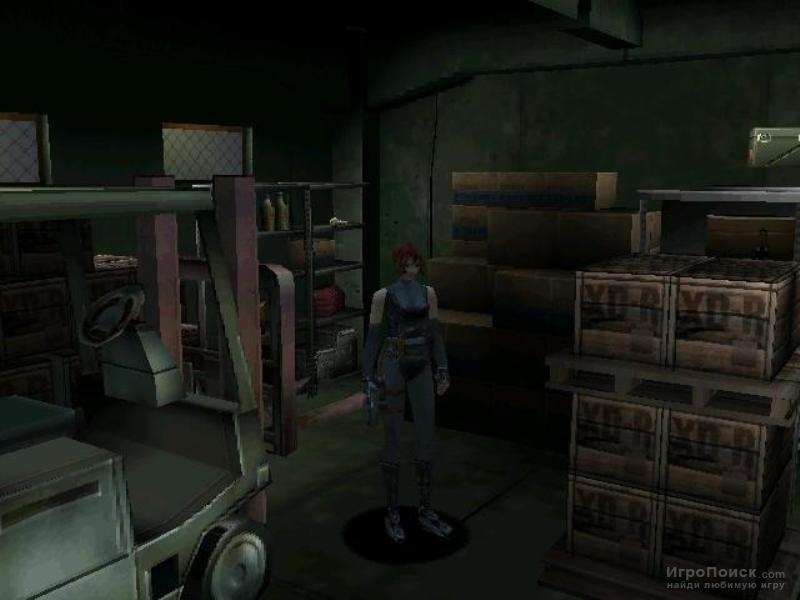 Скриншот к игре Dino Crisis
