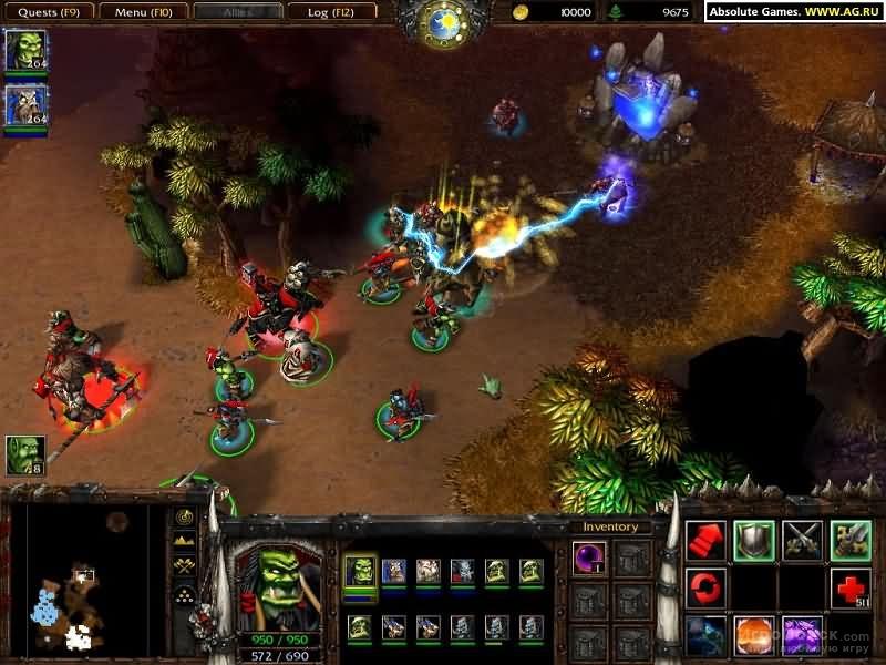 Скриншот к игре WarCraft III: Reign of Chaos