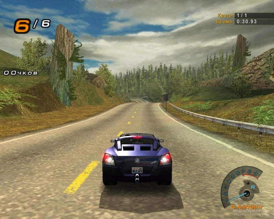 Скриншот к игре Need For Speed: Hot Pursuit 2