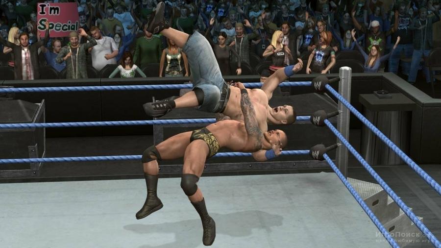 Скриншот к игре WWE SmackDown vs. Raw 2010