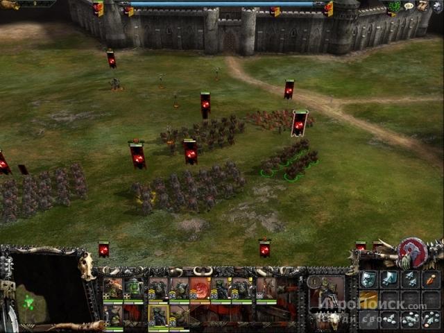 Скриншот к игре Warhammer: Mark of Chaos Battle March