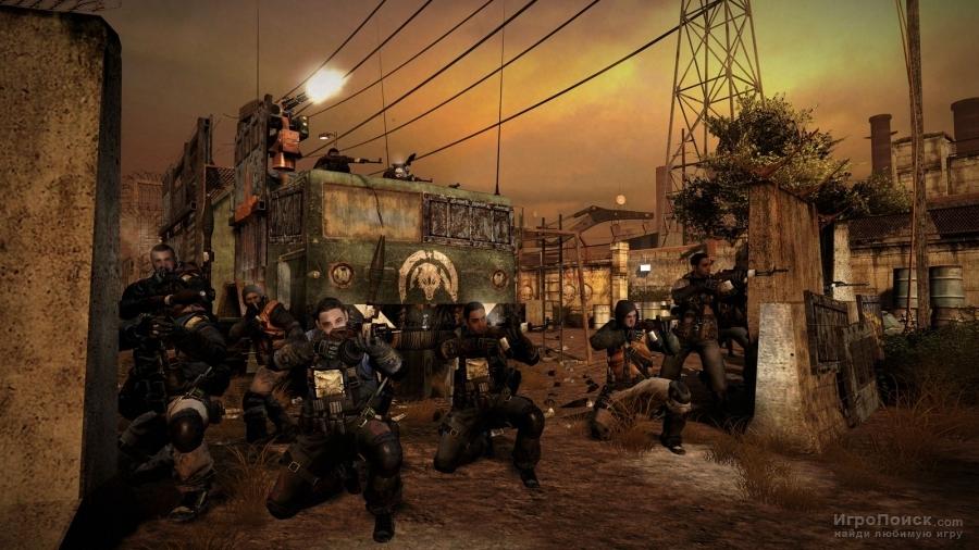 Скриншот к игре MAG: Massive Action Game