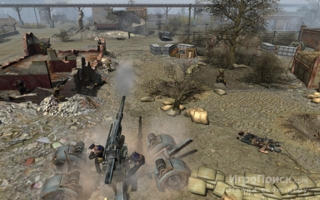 Скриншот к игре Men of War: Red Tide