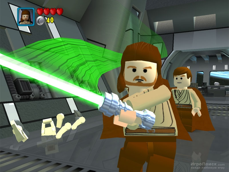 Скриншот к игре LEGO Star Wars: The Video Game