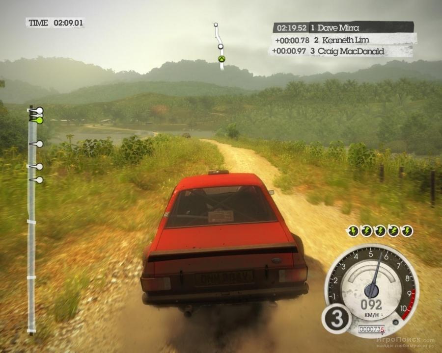 Скриншот к игре Colin McRae: DIRT