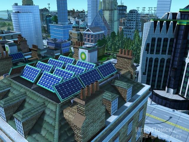 Скриншот к игре SimCity Societies