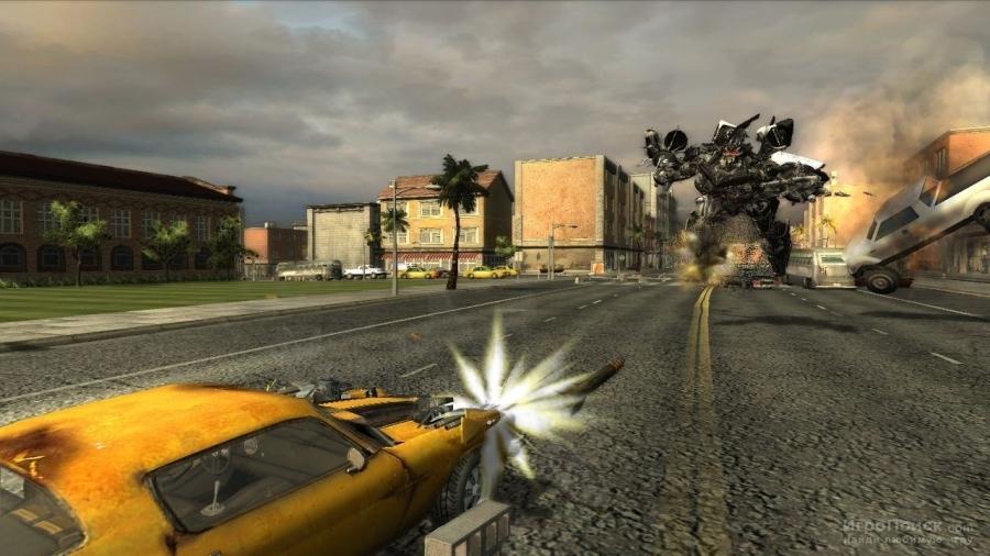 Скриншот к игре Transformers: The Game