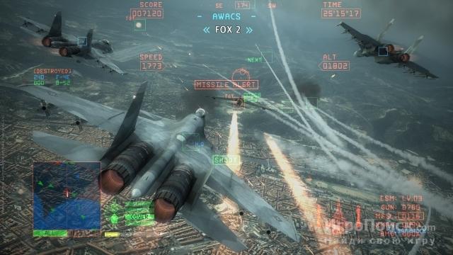 Скриншот к игре Ace Combat 6: Fires of Liberation