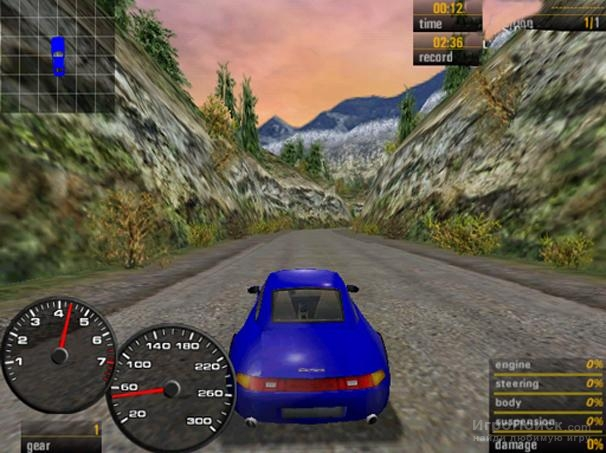 Скриншот к игре Need for Speed: Porsche Unleashed
