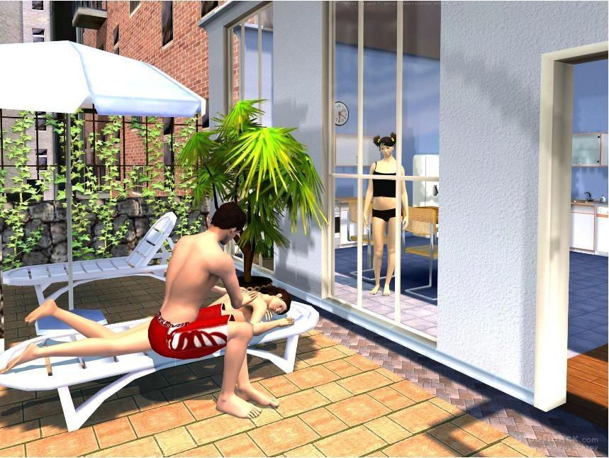 Скриншот к игре Singles 2: Triple Trouble