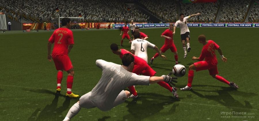 Скриншот к игре 2010 FIFA World Cup South Africa