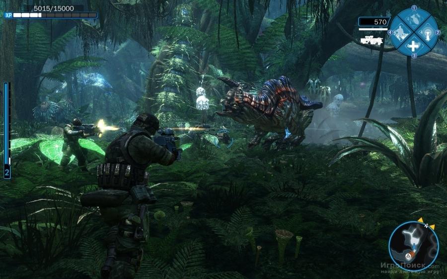 Скриншот к игре James Cameron's Avatar: The Game