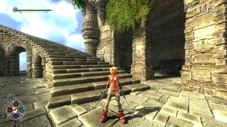 Скриншот к игре X-Blades