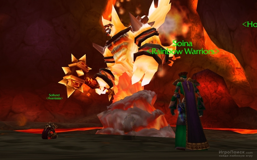 Скриншот к игре World of Warcraft: The Burning Crusade