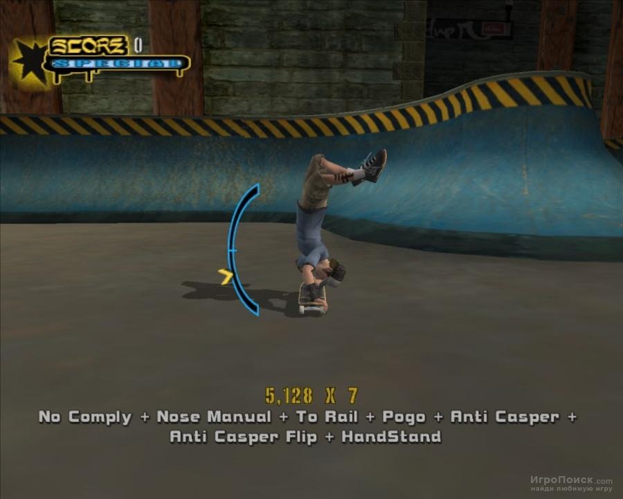 Скриншот к игре Tony Hawk's Underground 2