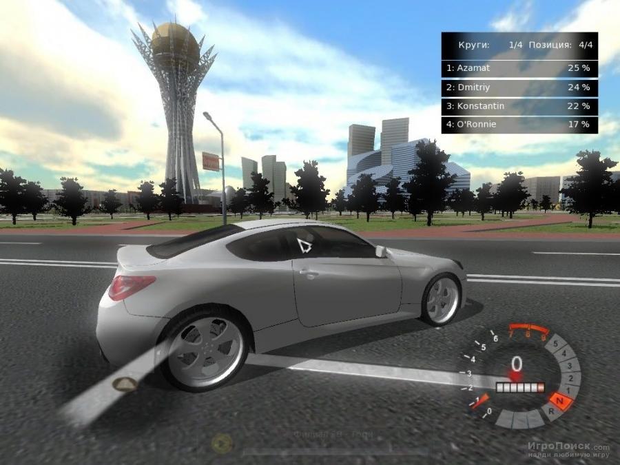 Скриншот к игре Astana Racer