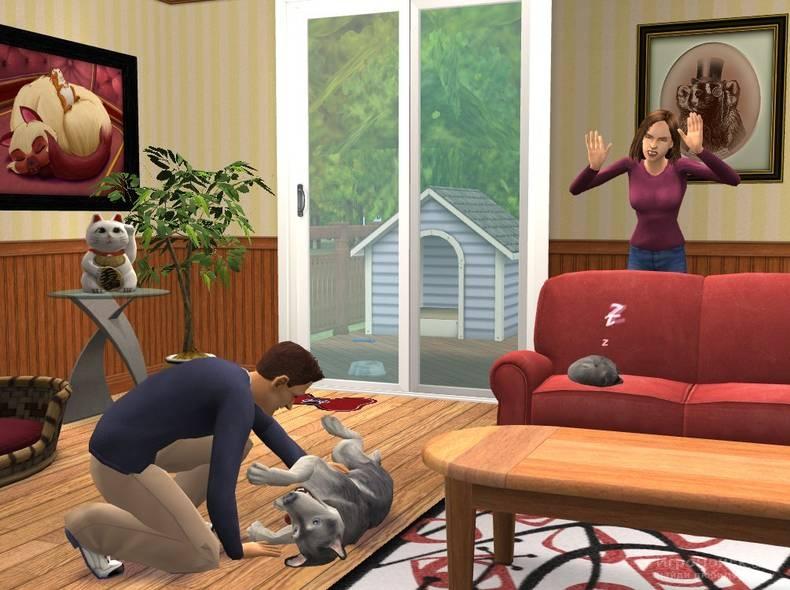 Скриншот к игре The Sims 2: Pets