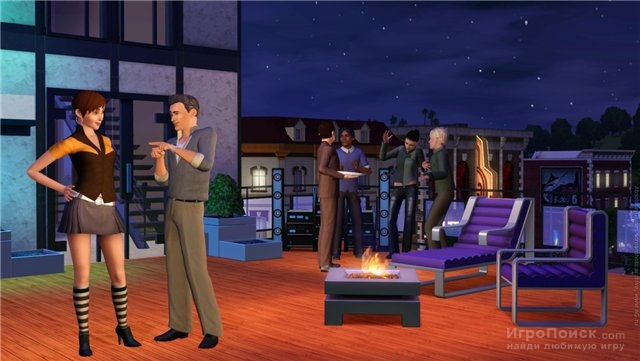 Скриншот к игре The Sims 3: High-End Loft Stuff