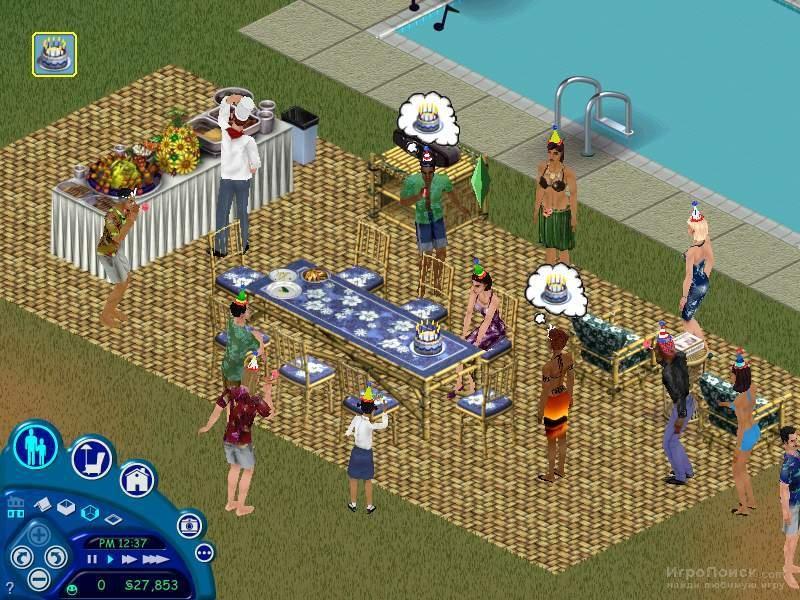 Скриншот к игре The Sims
