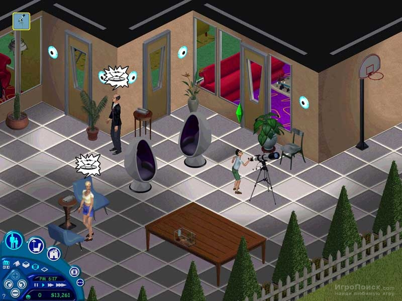 Скриншот к игре The Sims: Livin' Large