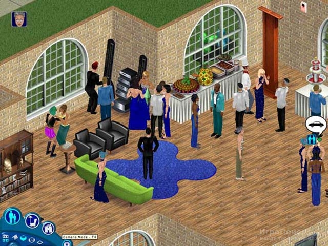 Скриншот к игре The Sims: House Party