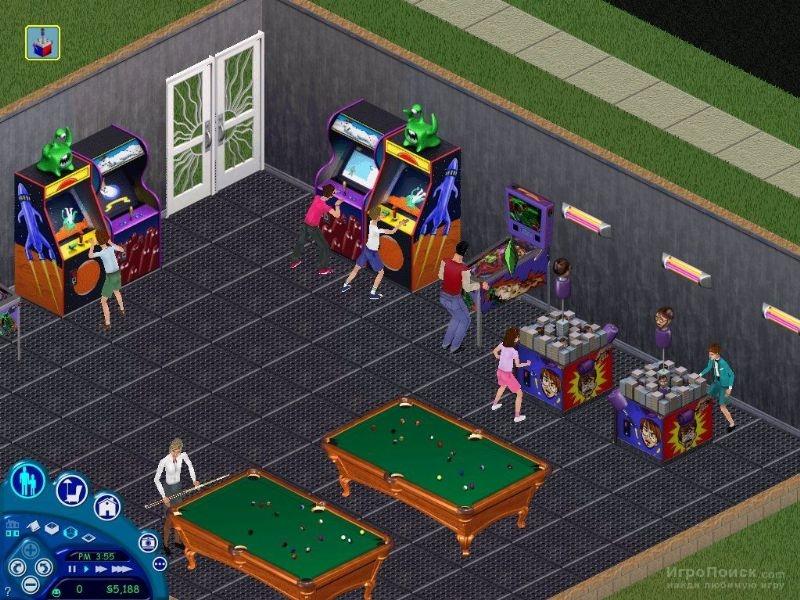 Скриншот к игре The Sims: Vacation