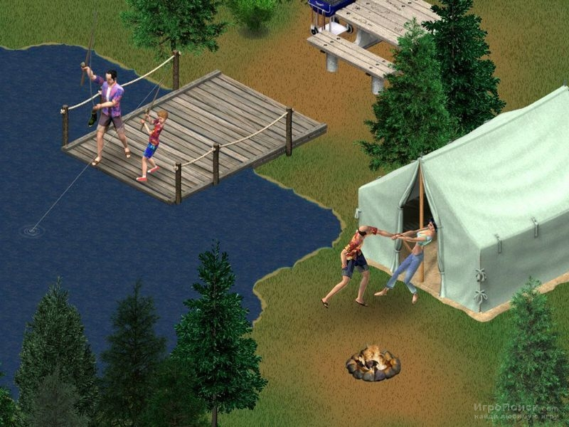 Скриншот к игре The Sims: Vacation
