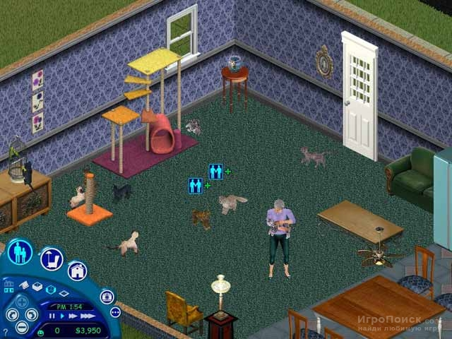 Скриншот к игре The Sims: Unleashed