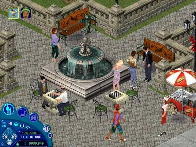 Скриншот к игре The Sims: Makin' Magic