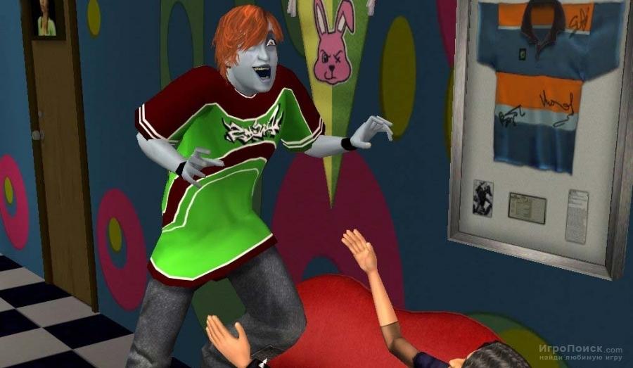 Скриншот к игре The Sims 2: University
